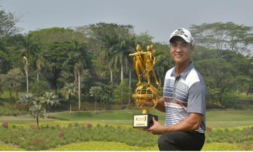 Duy Nhất với danh hiệu vừa dành được ở Indonesia chiều 29/8.