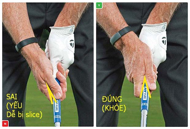Hướng dẫn cách cầm gậy golf đúng