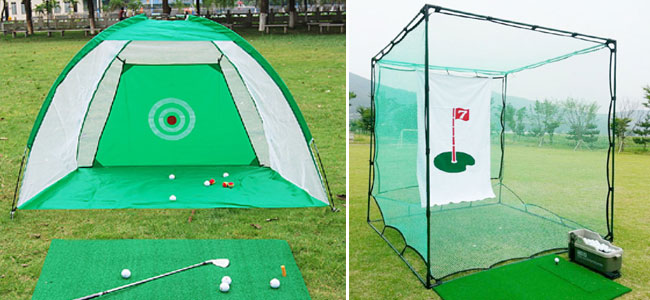 Tập golf tại nhà nhất định phải có lưới tập