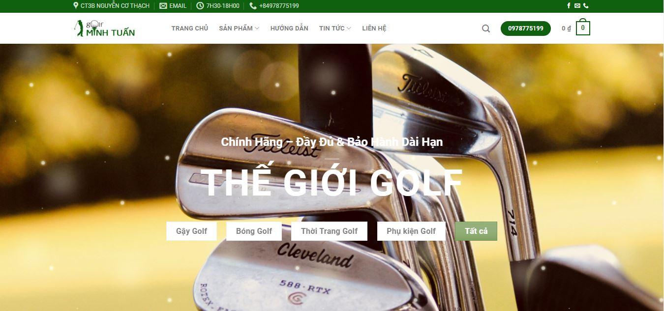 Minh Tuấn Store - Địa chỉ mua gậy đánh golf cũ giá tốt