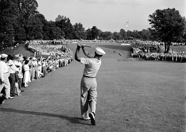 Ben Hogan chơi golf tại giải US Open