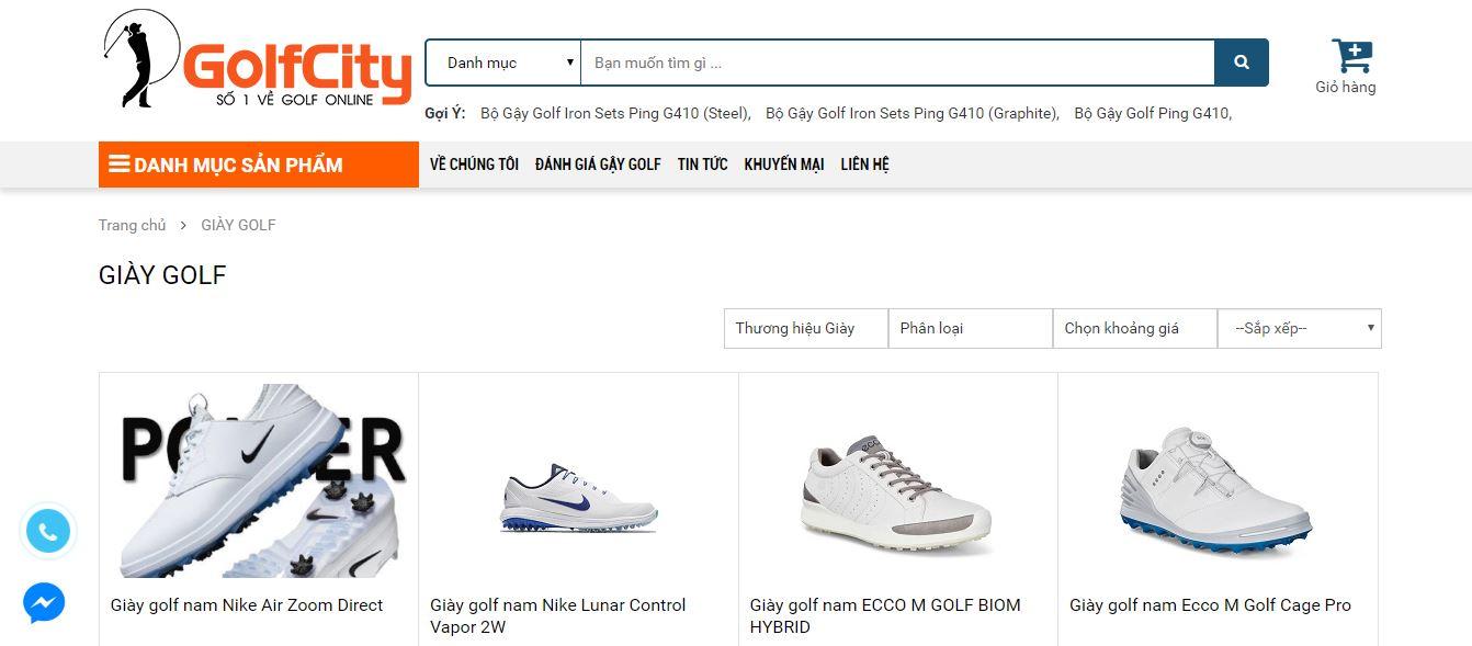 Golfcity - Địa chỉ bán giày golf Chính hãng giá tốt