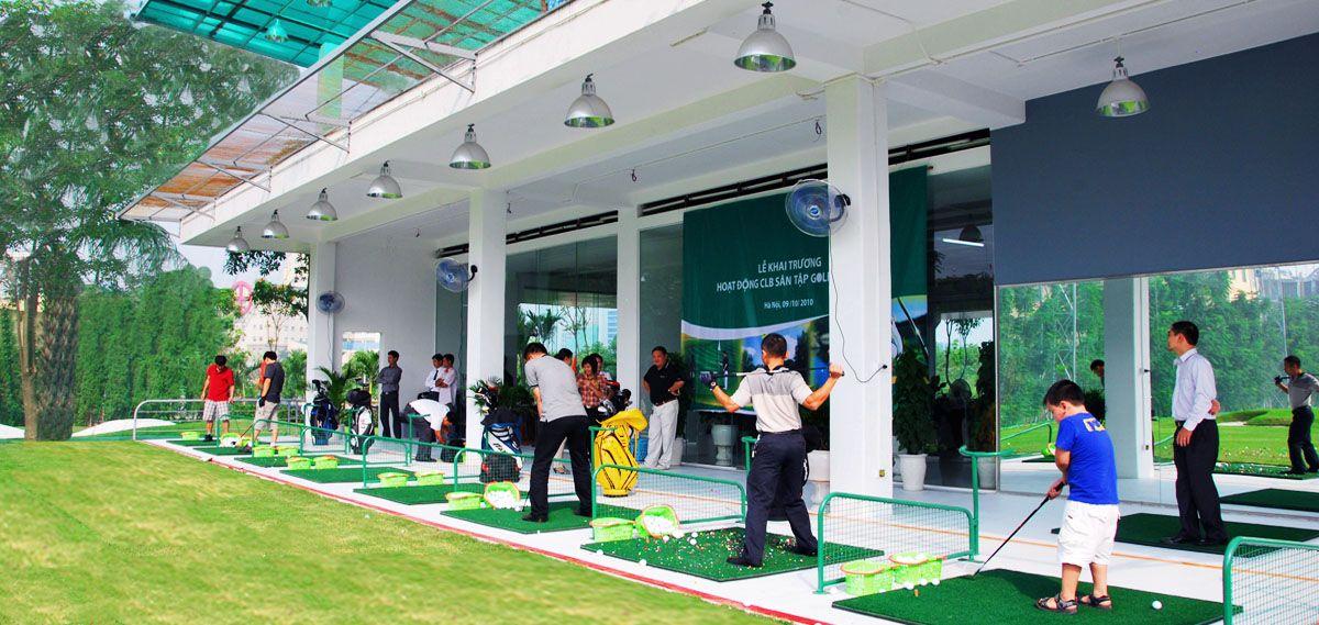các sân tập golf hà nội đẳng cấp
