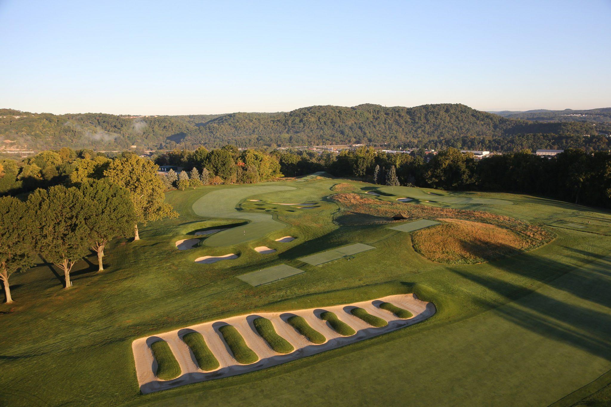 Thiết kế cảnh quan sân golf đẹp nhất ở Mỹ