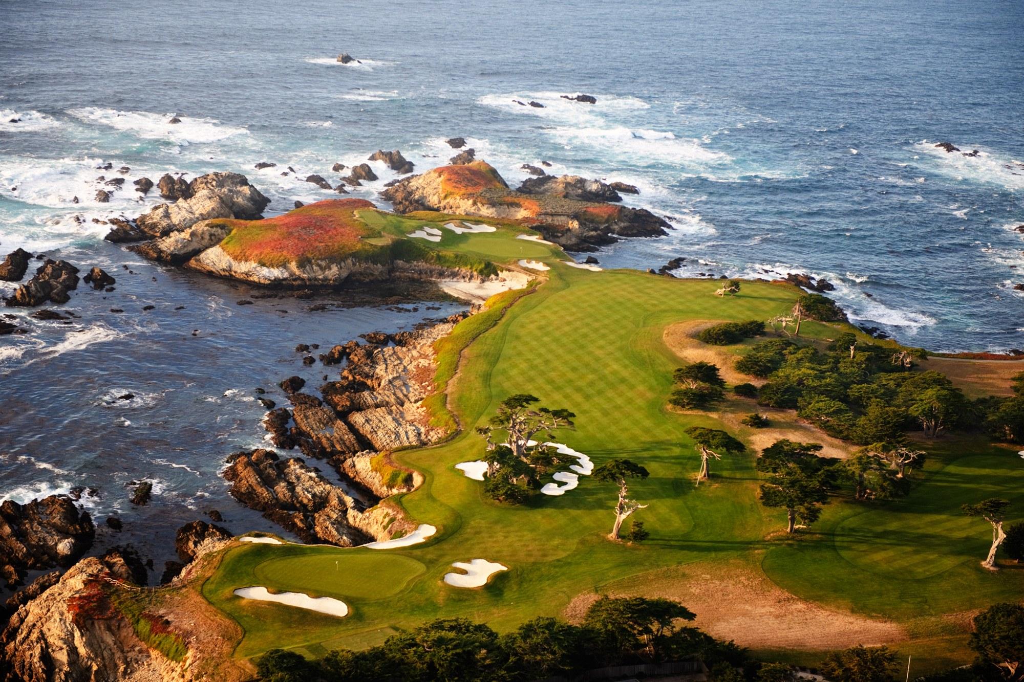 Hình ảnh sân golf đẹp nhất thế giới dạng Links