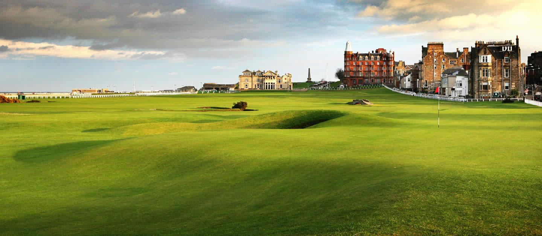 Nét cổ kính của sân golf đẹp nhất thế giới