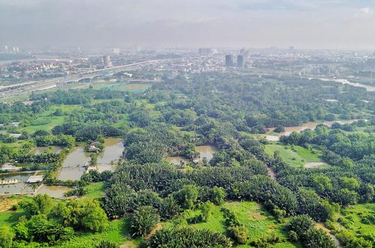Khu quy hoạch dự án sân golf Rạch chiếc