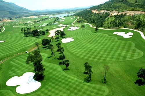 Thiết kế sân golf Rạch Chiếc tổng quan