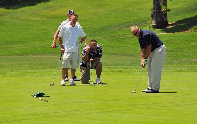 luật golf trên green