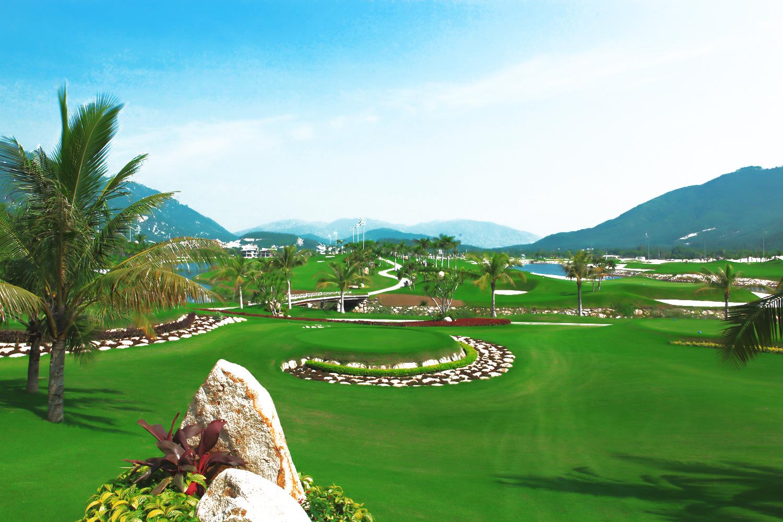 Toàn cảnh sân golf Nha Trang Diamond