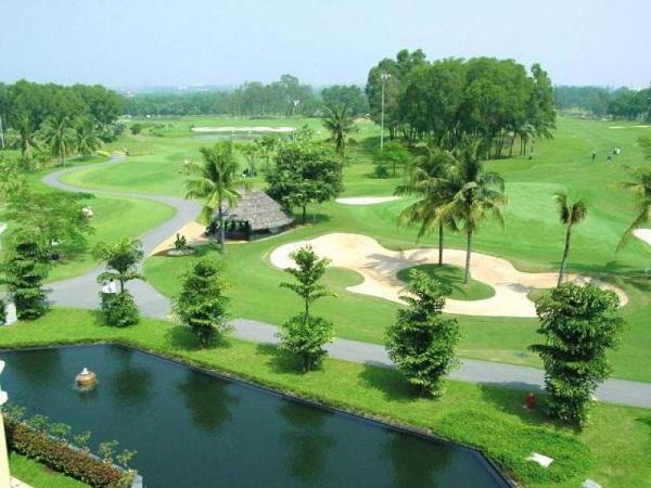 Phối cảnh sân golf ở Bình Dương - Mê Kong