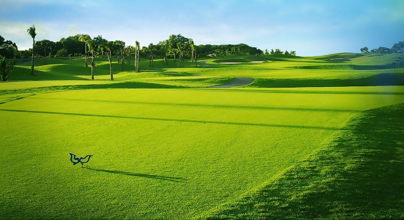 Sân golf Bình dương Twin doves có khung cảnh tuyệt đạp