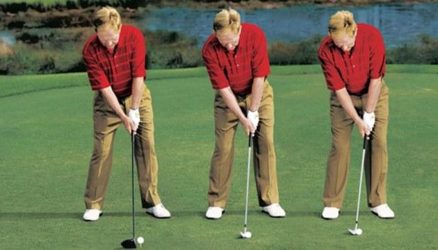 Hướng dẫn cách đặt mặt gậy golf cho từng cú đánh