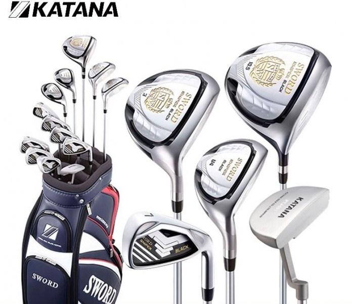 Bộ gậy golf Fullset Katana Sword Sniper Black 13 gậy