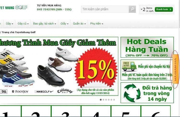 Những cửa hàng golf , shop golf online uy tín, dịch vụ khách hàng tốt nhất