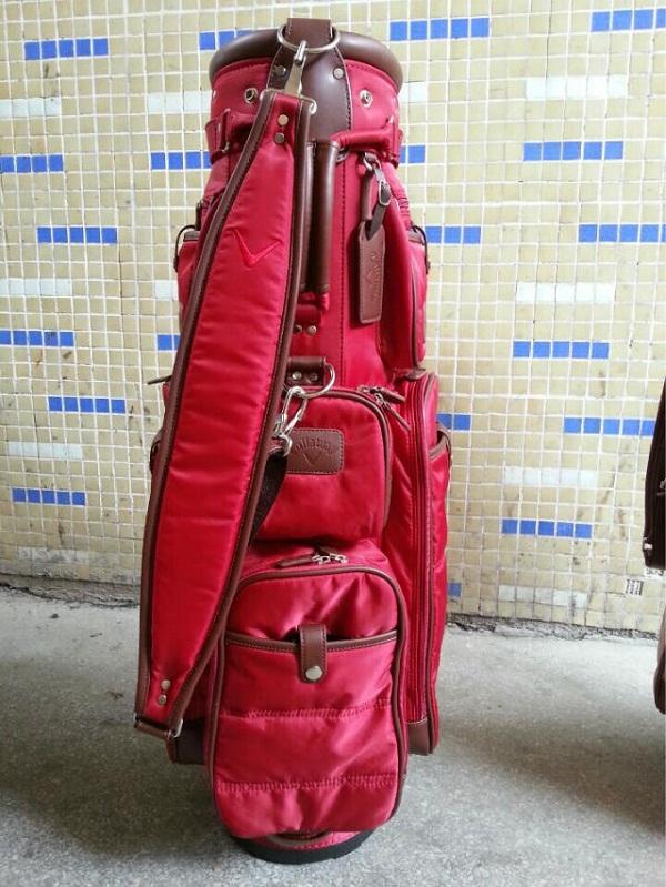 Thương hiệu túi golf callaway với sản phẩm chất liệu vải dù