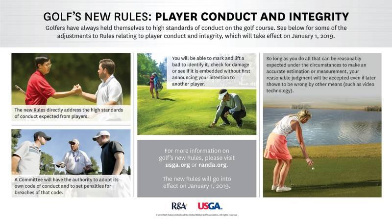 luật golf 2019