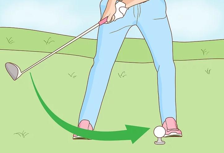 chơi golf khi đau lưng
