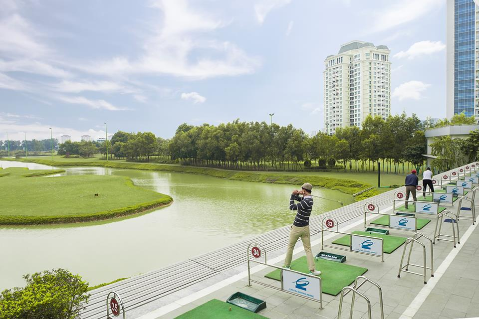 khu vực DR của học viện golf Ciputra