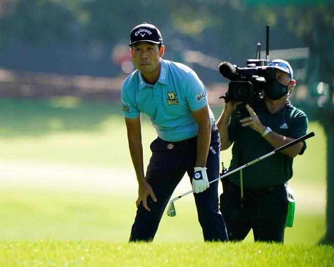 golfer lập kỉ luật buồn tại giải đấu master