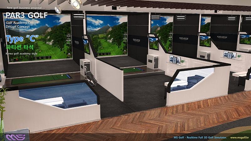 Trải nghiệm công nghệ Golf 3D của MS. So sánh Golf 3D MS9 và Golfzon