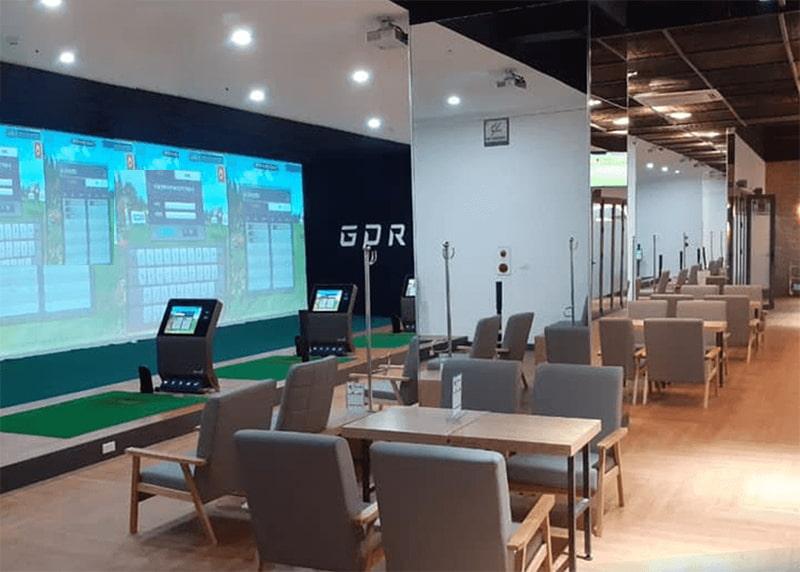 Hệ thống cơ sở của Golfzon tại Việt Nam