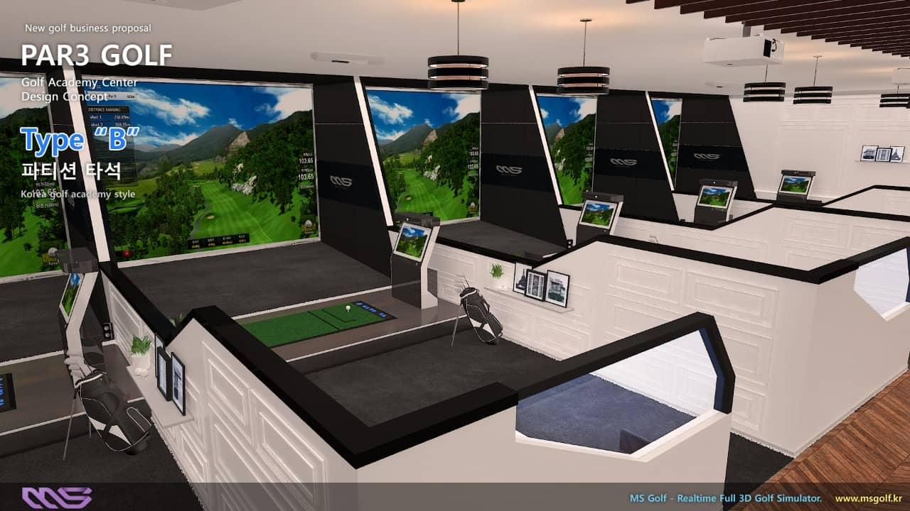 Hình ảnh sắc nét, chân thực phần mềm Golf 3D MS