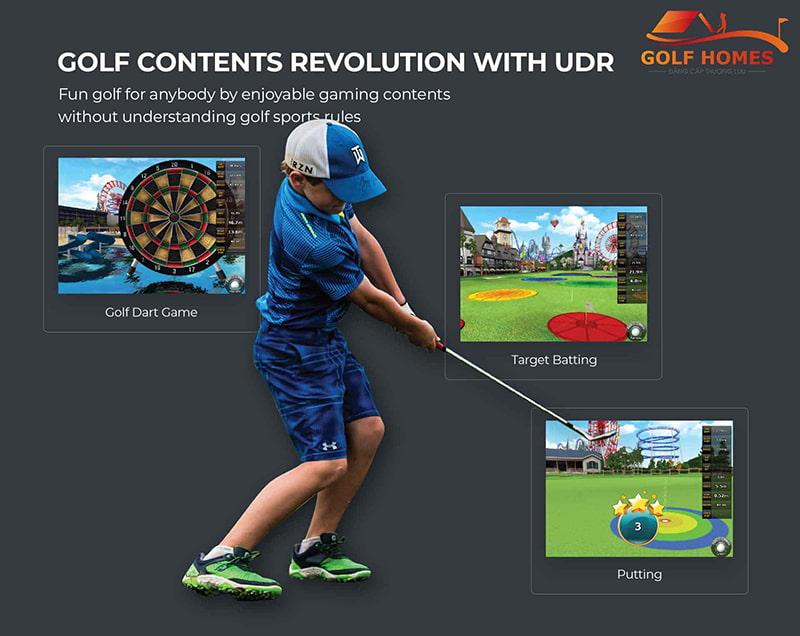 Điều chỉnh kỹ thuật từ công nghệ Golf 3D