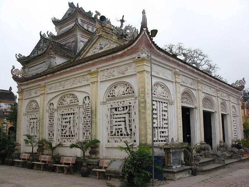 Kiến trúc chùa Cổ Lễ Nam Định