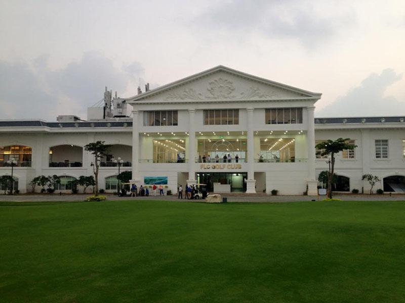 Nhà Clubhouse hiện đại view biển
