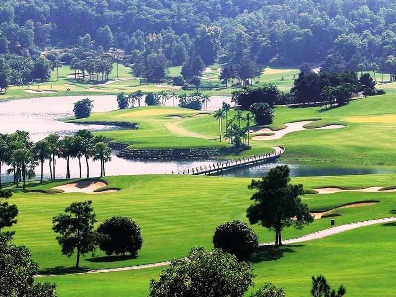Sân golf Đầm Vạc tỉnh Vĩnh Phúc