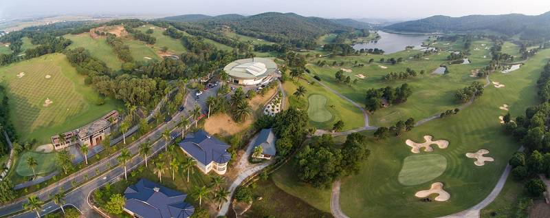 Chí Linh là một trong những sân Golf hàng đầu Việt Nam