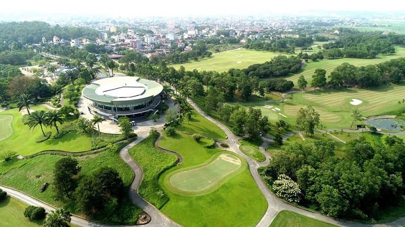 Sân golf Chí Linh với những tiện ích cực hiện đại