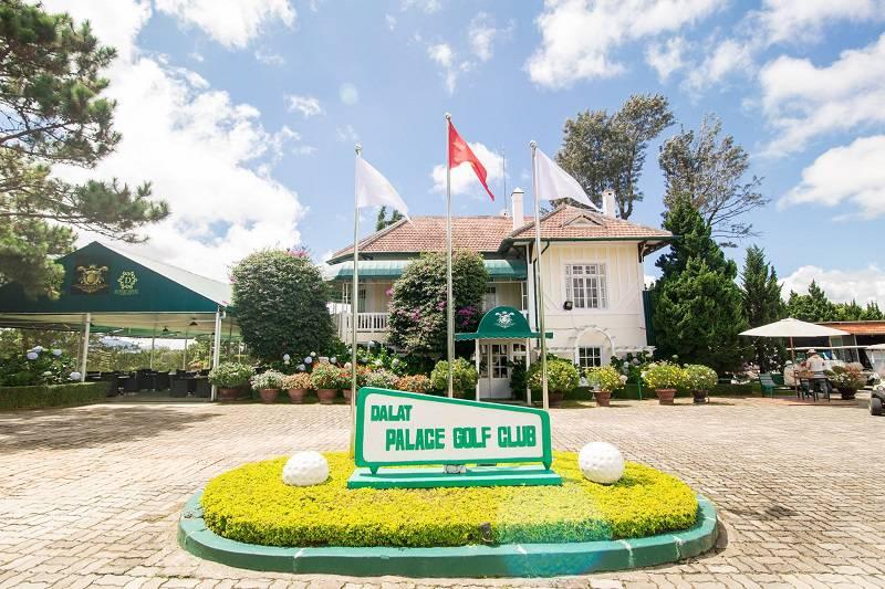 Sân golf Dalat Palace là nơi trải nghiệm, du lịch hấp dẫn