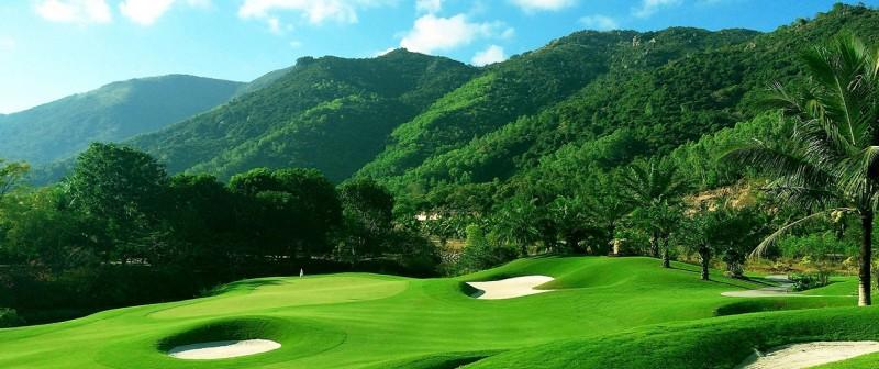 Thiết kế chuẩn quốc tế của sân golf Diamond Bay