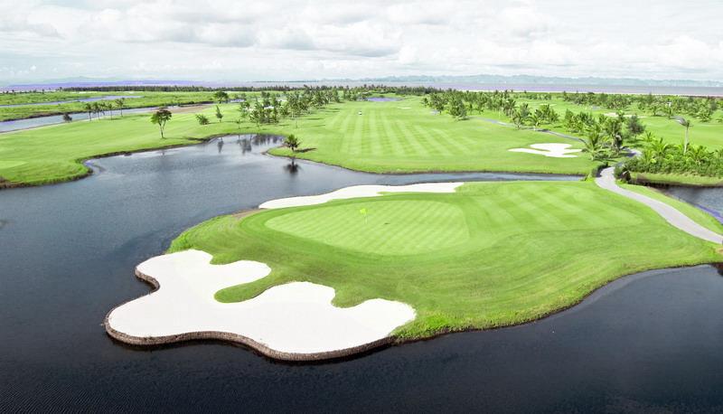 Sân golf BRG Tree Golf Resort được thiết kế với 18 hố