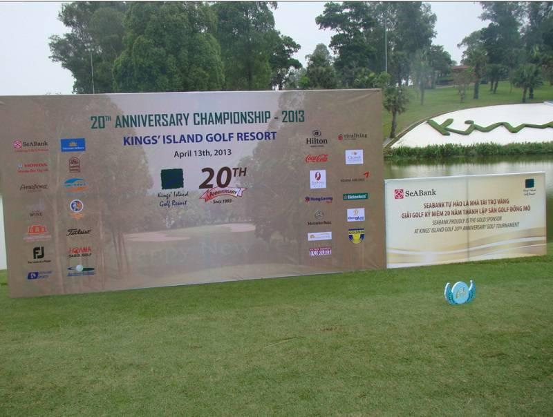 Kỷ niệm thành lập sân golf Đồng Mô lần thứ 20
