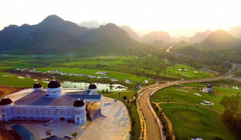 Stone Valley Golf Resort sở hữu nhiều tiện ích hấp dẫn golfer