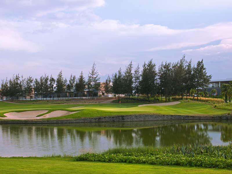Sân gôn giữ được những nét đặc trưng của địa hình miền Trung Việt Nam
