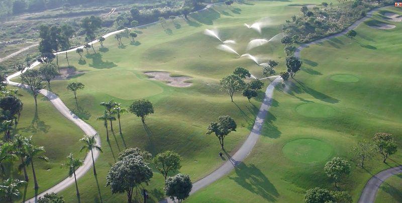 Sân golf với thiết kế hiện đại, độc đáo