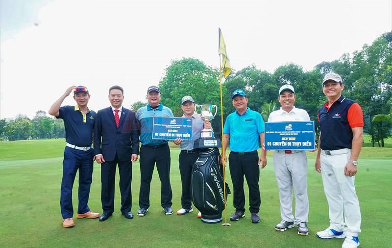 Giải golf Doanh Nhân Sài Gòn 2017