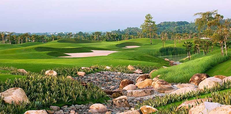 Sân golf Twin Doves tỉnh Bình Dương