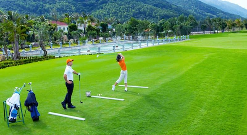Toàn cảnh sân golf Bắc Ninh