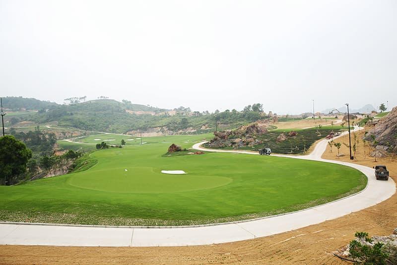 Sân golf Quảng Ninh sẵn sàng đưa vào hoạt động