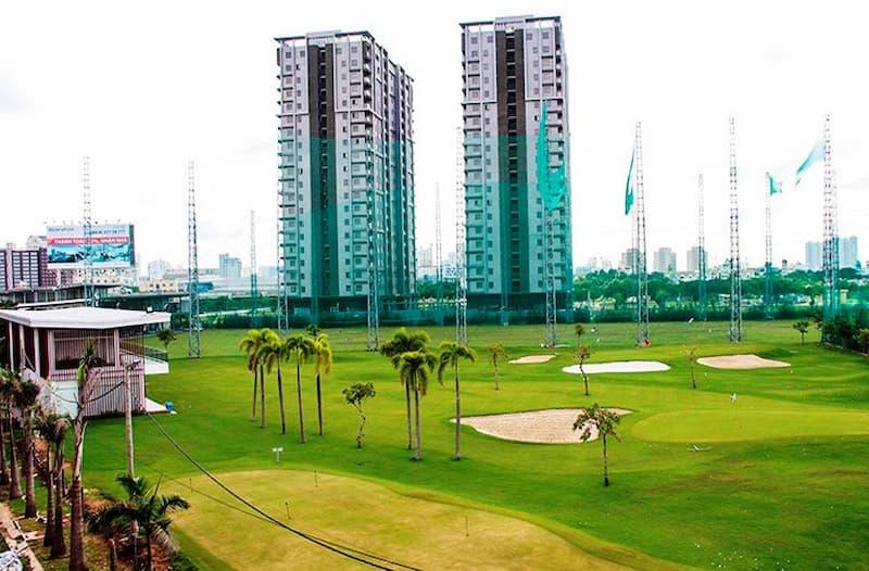 Một góc sân golf Long An