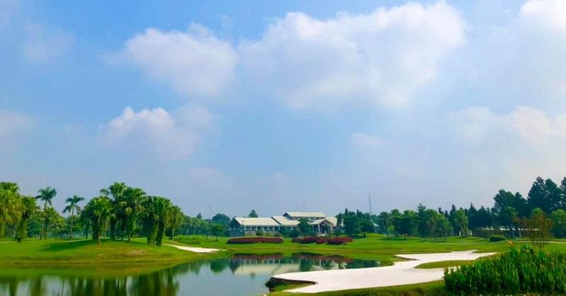 Tòa nhà câu lạc bộ mang đến sự sang trọng và hiện đại không thua kém gì những sân golf hàng đầu thế giới