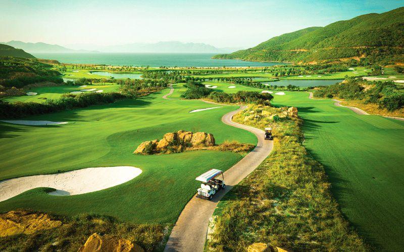 Sân golf Kim Bảng có thiết kế hài hòa, trở thành điểm đến lý tưởng dành cho các golfer tại khu vực miền Bắc