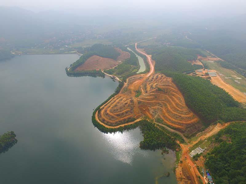 Sân golf Thanh Lanh là dự án nổi bật của tỉnh Vĩnh Phúc